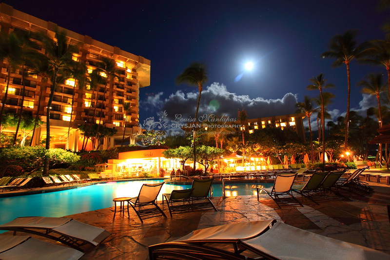 Another Shot of our Hotel at Night at a different angle.