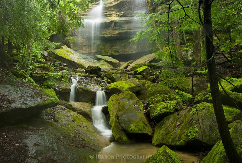 Lush Green Alpha Falls