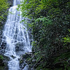 waterfall near Cherokee, North Carolina