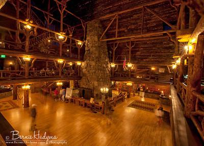 Inside the Old Faithful Inn  Mont122106