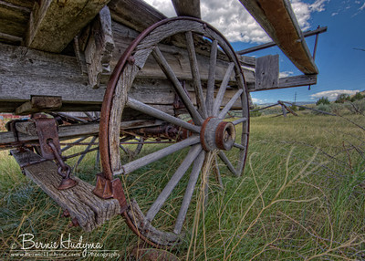 Old Hay Wagon Mont12876_5