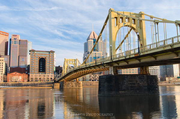 Pittsburgh Skyline from Allegheny Landing - Right