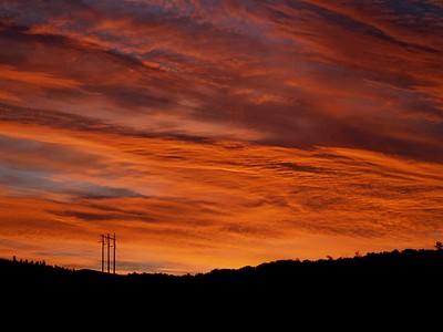 Fire Sky Morning