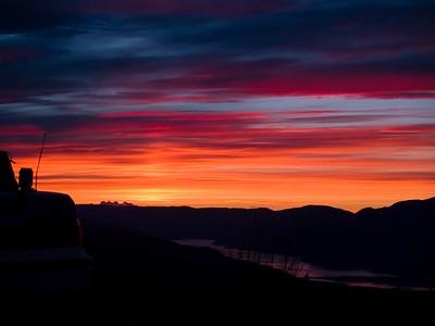 Kamloops Lake Sunset
