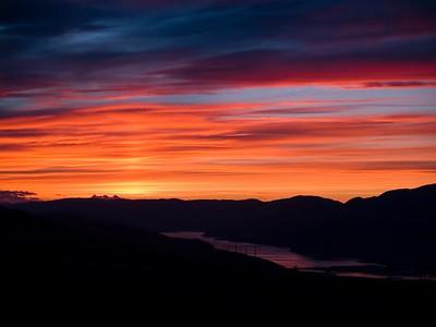 Kamloops Lake Sunsetjpg