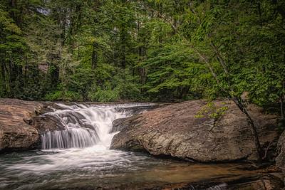 Dick's Creek Falls near Dahlonega, GA