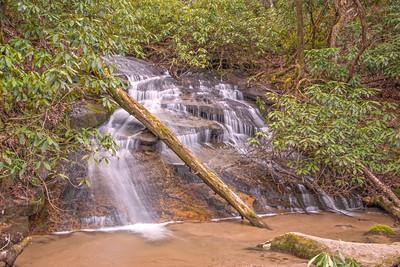Falls at Blackrock Mountain State Park