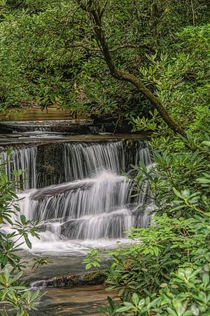 Lower Falls on Crow Creek