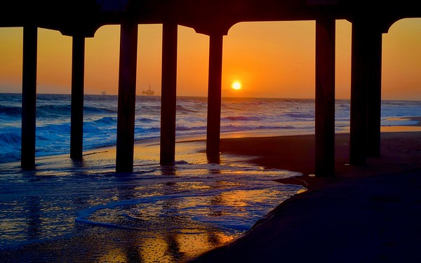 """Huntington Beach Sunset"""