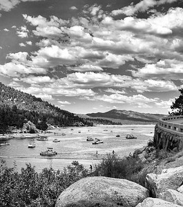 """Summer on the Lake"" Big Bear Lake California"
