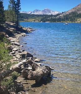 """Tioga Lake"" Eastern Yosemite"