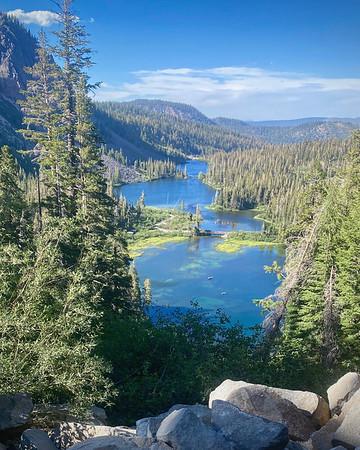 """Twin Lakes"" Mammoth Lake Basin"