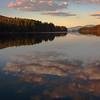 Blue Mountain Lake Evening
