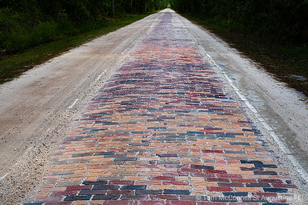 Old Brick Road Flagler County Florida