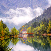 Tyrol Mountain Lake Portrait
