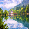 Mountain Lake Tyrol Austria