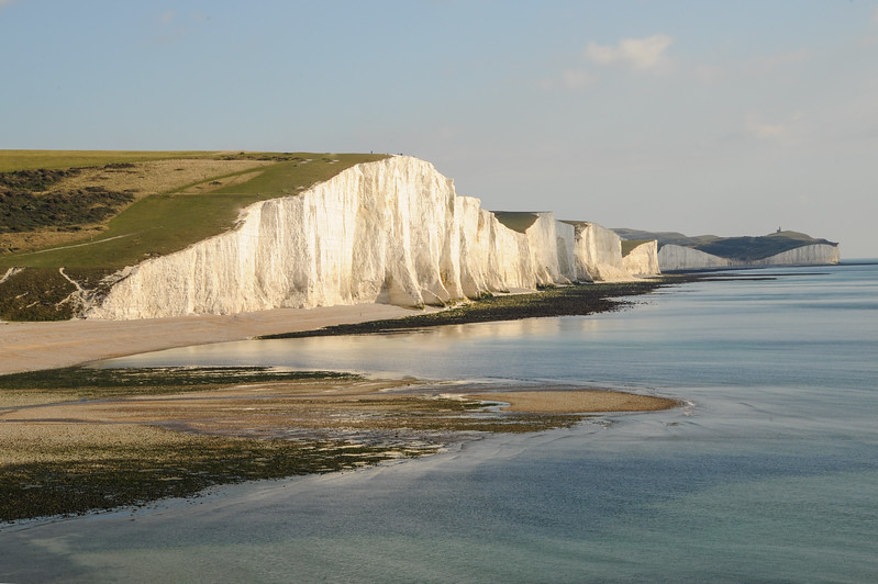 The Seven Sisters of Sussex,  England