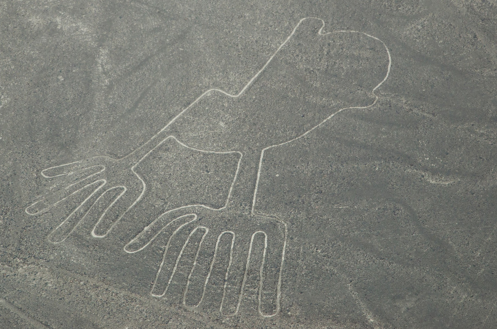 Hand (4 and 5 fingers) of the Nazca Lines