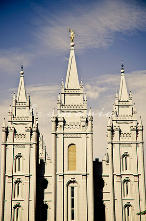 Salt Lake City Utah LDS Temple