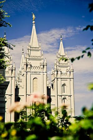Salt Lake City Utah LDS Temple