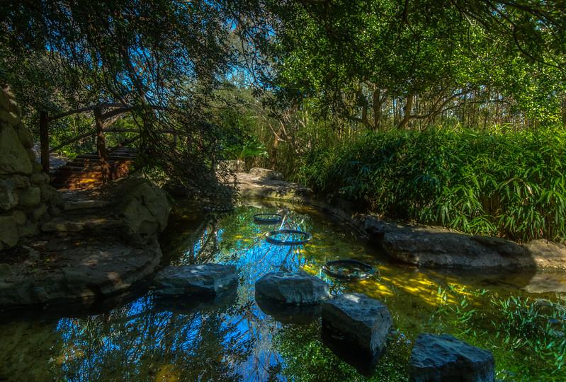 Isamu Taniguchi Japanese Garden: Zilker Botanical Gardens.