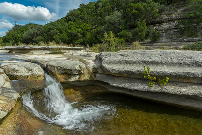Cloudy afternoon at Bull Creek.