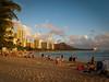 Diamond Head from Waikki Beach, Honolulu, Hawaii