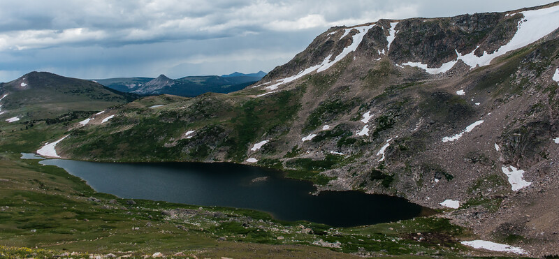 Alpine Lake - BearTooth Highway