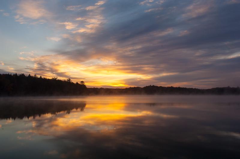 Sunrise in Michigan's Upper Peninsula