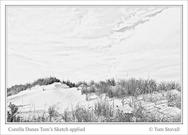 Dunes Toms Sketch
