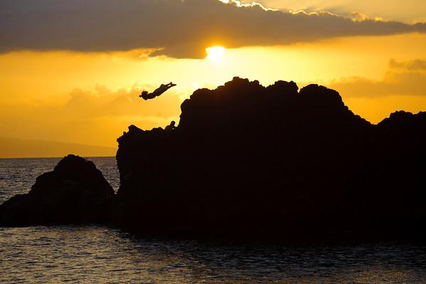Liftoff. Maui, HI, 2012.