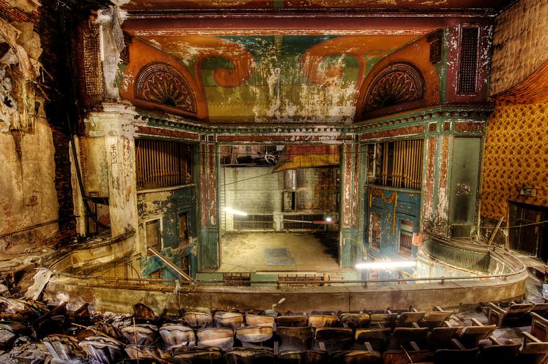 The Queen Theater (Before), Wilmington DE, 2009.