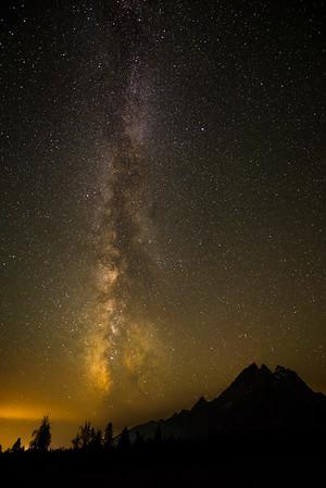 Night Sky, Grand Teton National Park, 2014.