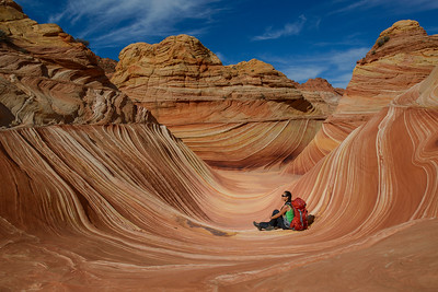 Inside the Wave, Coyote Buttes, AZ, 2013.