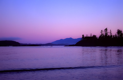 Pacific evening