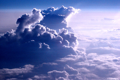Dramatic view of clouds during flight from Japan to Hong Kong - 7