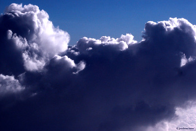Dramatic view of clouds during flight from Japan to Hong Kong - 4