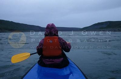 11413 Rainy paddling Coppermine