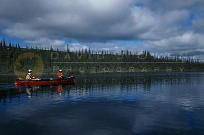 11174 Canoe on Coppermine