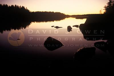 6367 Artery Lake sunset