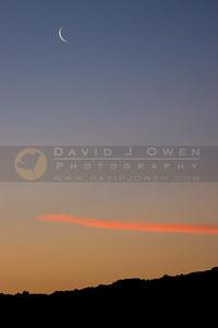 020908-003 New moon at sunset