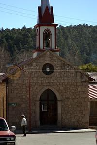 111605-02 Iglesia en Creel