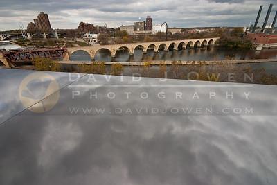 102106-033-2 Clouds & Stone Arch