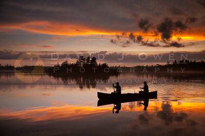 20100523-392 Canoe and amazing Knife sunset-2