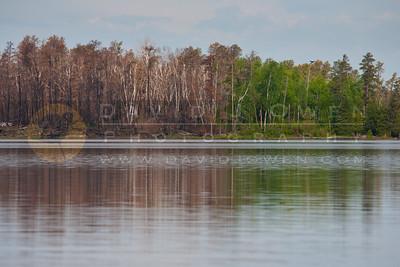 20120604-018 Lake Insula and burn reflection