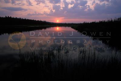 12496 1 Sunrise over Burntside R