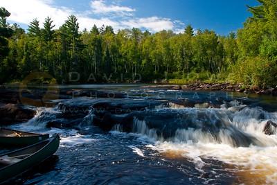 082005-15VAR-2 Canoe and mini-falls