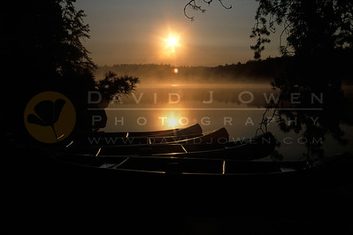10803 1 Canoe and sunrise upper Kawish