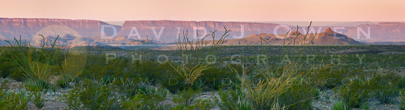 110705-010-2 Sierra Ponce-Mesa sunrise pano