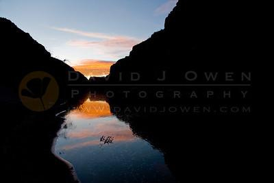 20090224-007 Closed Canyon sunrise
